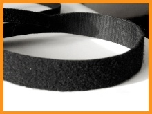velcro cablemanager schwarz rolle 25mx10mm