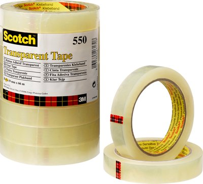 Scotch Klebeband PP transparent 66m x 19mm
