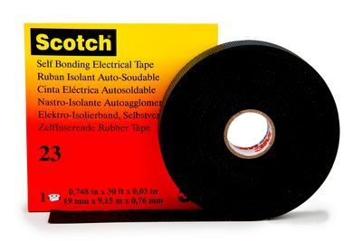 Scotch Isolierband vulkanisierend 915m x 19mm schwarz
