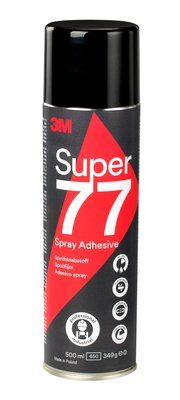 3M Spruehkleber 500ml transluzent Spray 77 Permanent Loesemittelfrei